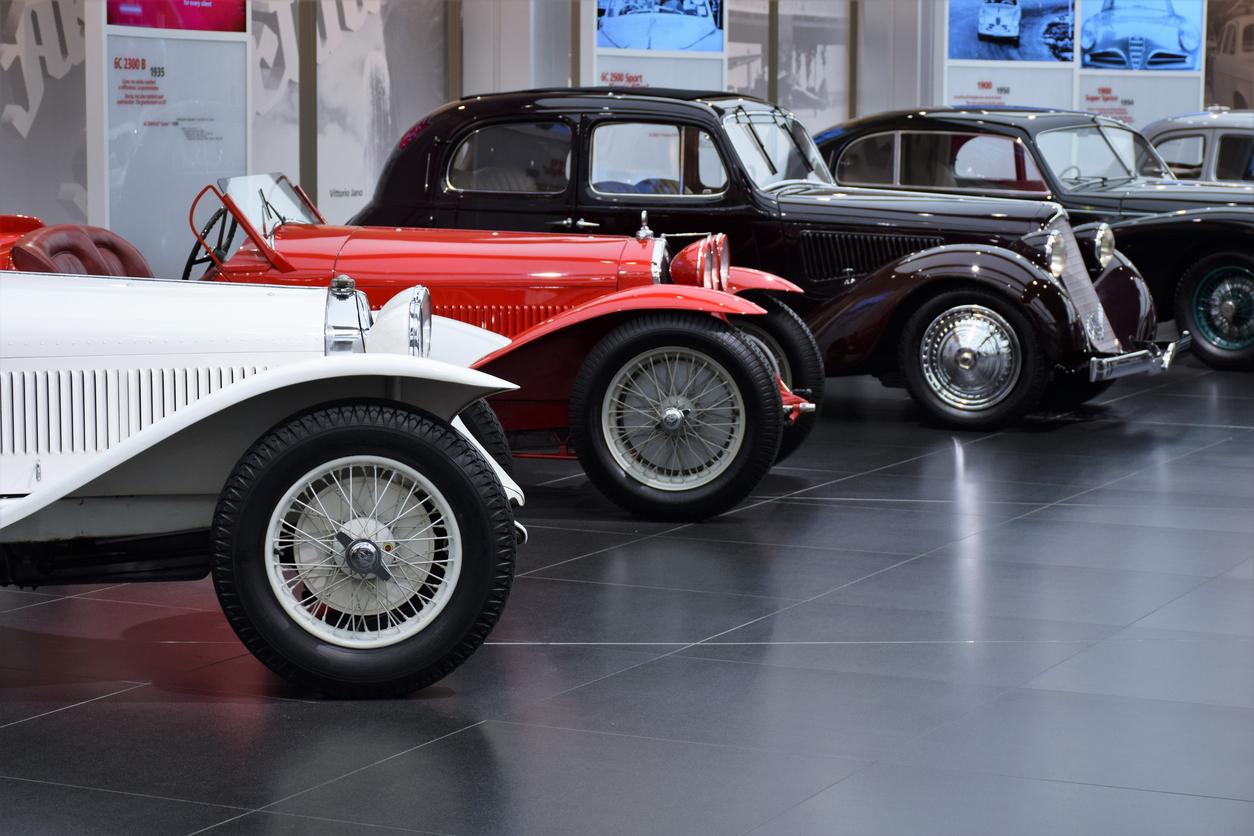 Musée voitures anciennes de Perrigny